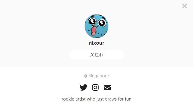 nixour——每日P站画师推荐~20191007~