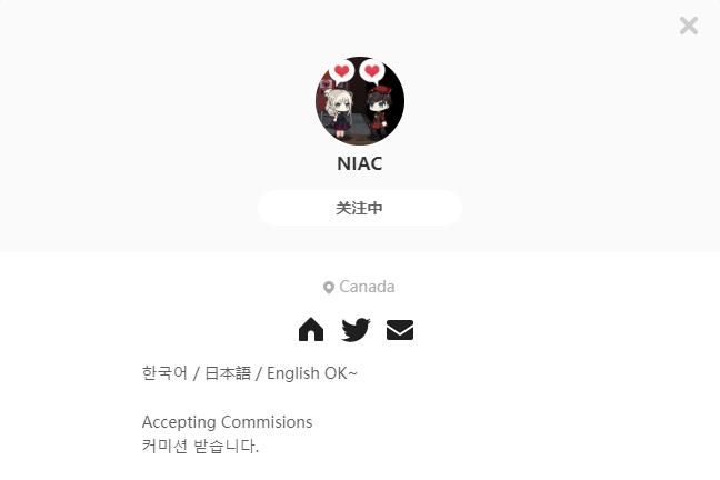 NIAC——每日P站画师推荐~20191027~