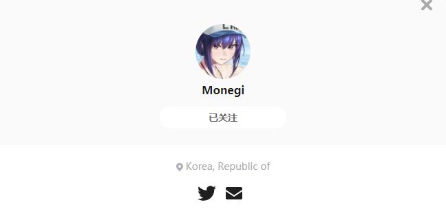 Monegi——每日P站画师推荐~20201115~